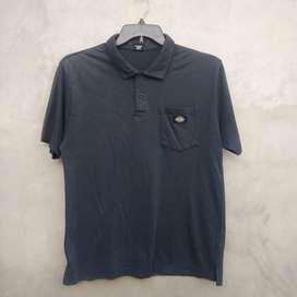 01 Kaos Polo Shirt DICKIES Second Original 101%