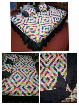 Fancy Cotton Takhat sheets & Roll Pillows