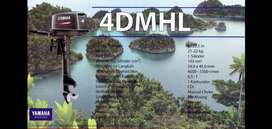 Mesin Tempel YAMAHA 4 HP / Mesin Outboard / Mesin Kapal