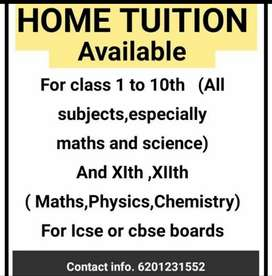 Private tutor (cbse,icse)
