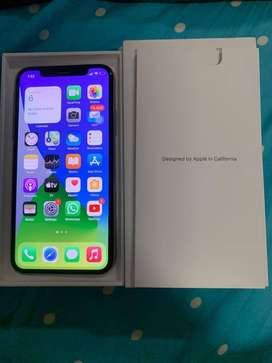 APPLE IPHONE X 256GB SILVER COLOR AVAILABLE GOOD CONDITION