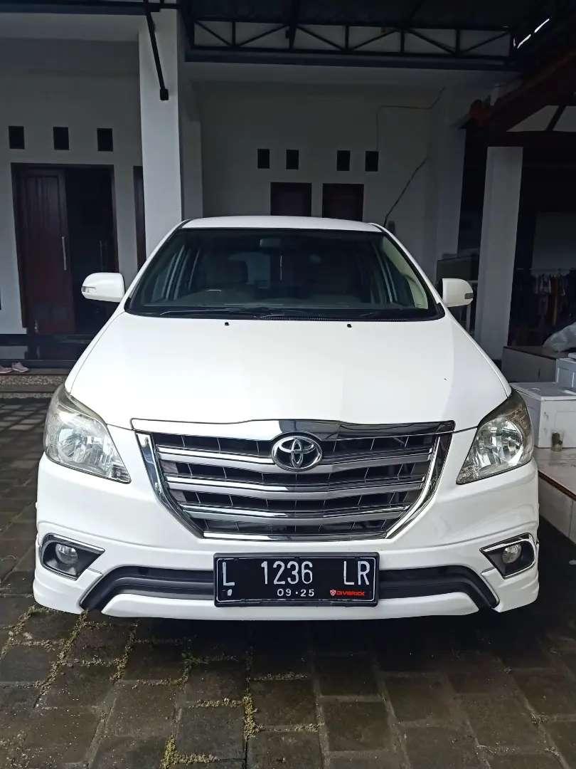 Toyota Kijang Innova type V Luxury 2015 AT 0