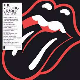 The Rolling Stones 1964-1969 limited edition vinyl lp box set.