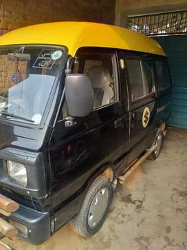 Suzuki Bolan yellow Cab model 2012 total genuine