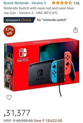 New Nintendo switch v2 Zelda and Mario