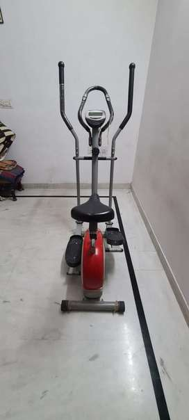 Cross trainer for gym