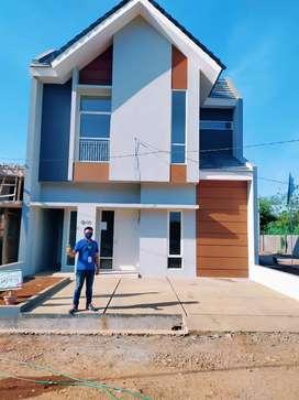 Rumah 2 lantai selangkah ke Polda Bandara