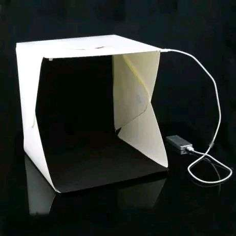 Mini Studio Lightbox Folding Softbox Studio Portable Medium 30cm 0