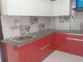 3 bhk builder floor with car parking and 80 percent loan facility