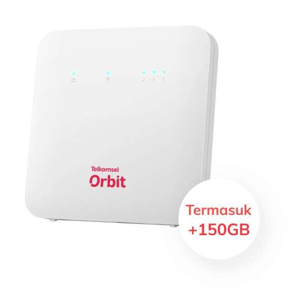Huawei B312 Orbit Star 2 Modem Router Wifi Telkomsel Free 50Gb
