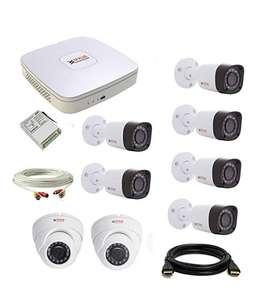 CCTV 4 Camera/8 Camera available with 1 Year Warranty @10,500