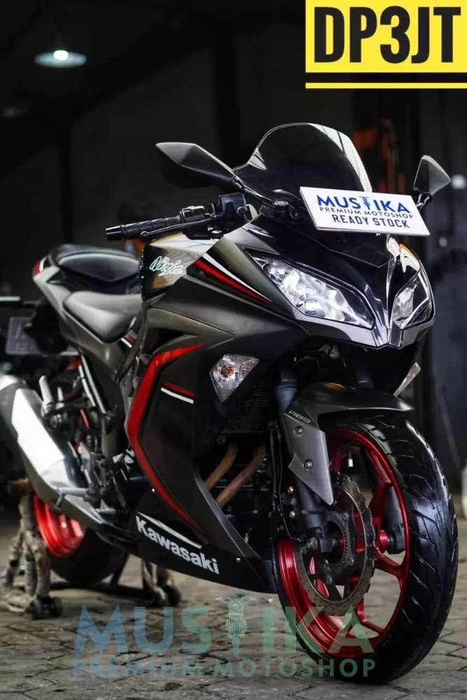 Ninja 250 ABS PMK 2016, Bekas Berkelas Berkualitas, Mustika Motoshop