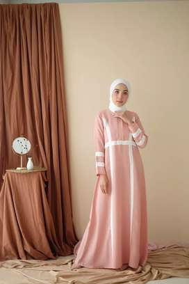 Long dress gamis cantik