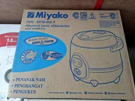 Magic com miyako mcm 606A capasity 0.6liter baru jantungacc