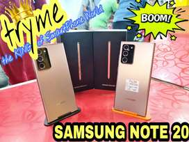 TRYME 256GB SAMSUNG NOTE 20,Full Kit Bill Box Brand New Conditions