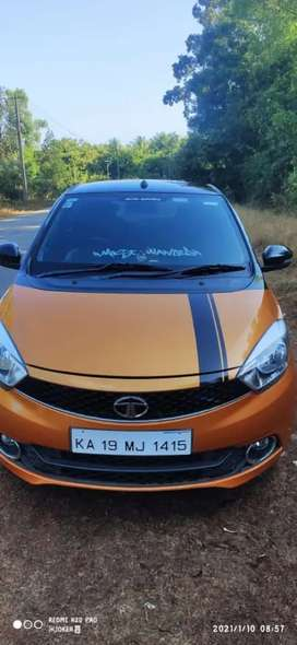Tata Tiago top end fully loaded 2018 Petrol Well Maintained