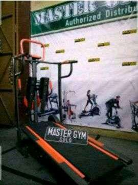 treadmil manual multifungsi - alat olahraga tl 004