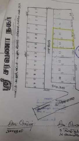 ஶ்ரீ சரவணா கார்டன்  திருவந்திபுரம் கோவில் அருகில் sft 280 மட்டுமே.