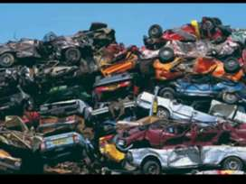 Only scrap car
