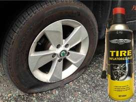 Emergency repair Tire puchure Tyre Inflator & Sealer
