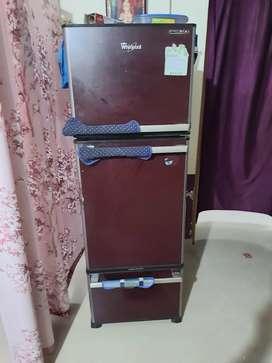 Whirlpool  triple door fridge