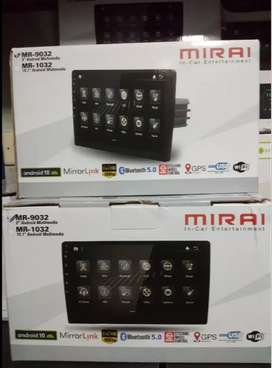 Headunit Android WiFi Mirai MR 9032 super cepat no lemot utk JUKE