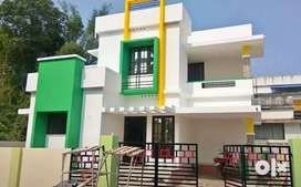 3 bhk 1250 sqft 3.cent new build house at koonammav highway 450 mtr