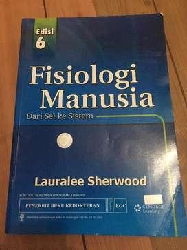 Buku kedokteran fisiologi manusia sherwood