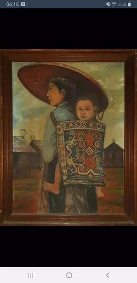 Lukisan kuno kalimantan