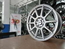 Jual HSR WHEEL Ring 16x7 Utk Mobil Mirage, March, Aveo, Xenia