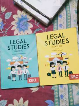 EBC Legal Studies for class 11 and 12 (Law preparation book)