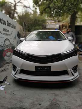 Toyota Corolla 2015 Body Kit - Front Rear Bumper + Side Skirts