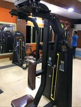 gym equipment nice setup with