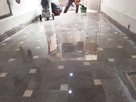 Marble polish and tile cleaning
