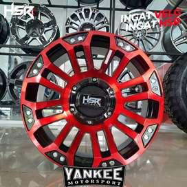Velg Mobil Ring 18 XPANDER HSR MYTH05 Black Red