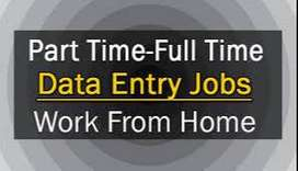 Weekly payment upto INR 20000 - DATA ENTRY/SIMPLE TYPING WORK in MNC .