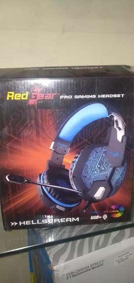 Redhead Pro Gaming Headset 7 RGB LED Colours