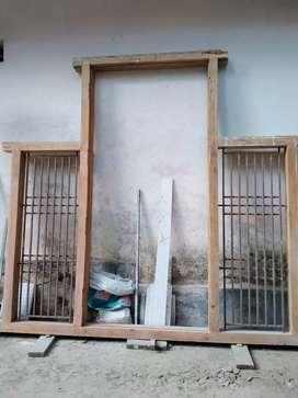 Door cum window