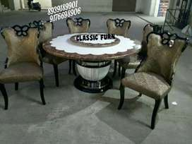 bran ndew classy style marble dining table
