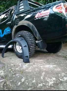 Over fender mobil model baut L.