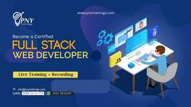 Become a Certified Full Stack Web Developer!