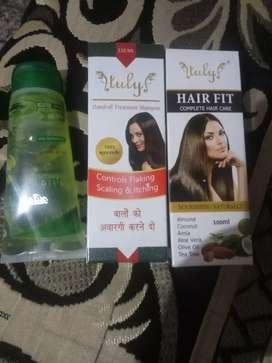 Face wash , hair oil shampoo