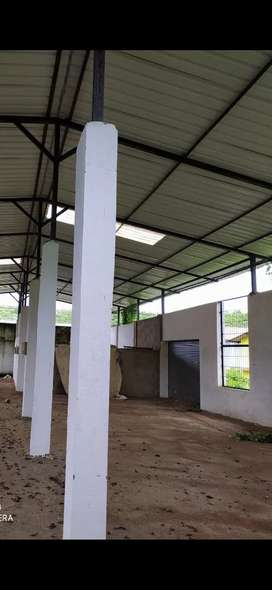 Industrial plot and shed for sale