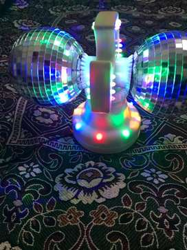 Imported Disco and party light double rotation light