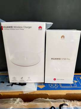 Huawei P30 Pro + Wireless Charger. New Segel