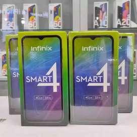 INFINIX SMART 4 RAM 2/32 GARANSI RESMI 1 THN