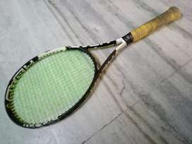Speed mp head long tennis racket.