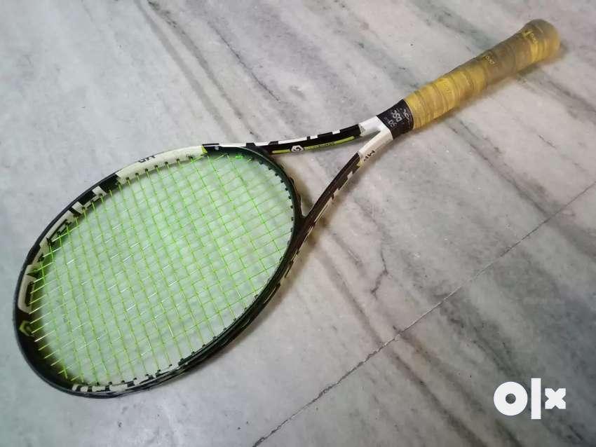 Speed mp head long tennis racket. 0