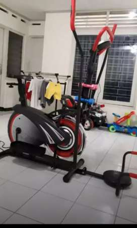 Big familly sepeda statis 10 fungsi greassporty