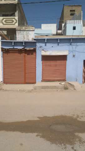 Selling 150 Yrd Ground + 1 House 40 Ft Road Facing with 2 shops